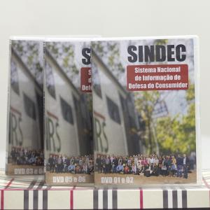 <b>DVD sobre curso do PROCON RS</b><br>Cobertura de evento e realização de DVD do curso sobre o Sistema Nacional de Informação de Defesa do Consumidor – SINDEC