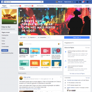 <b>Programa Vida no Sul</b><br>Realização do programa musical e cultural Vida no Sul, compreendendo a produção do programa e gestão de redes sociais como Facebook e Youtube
